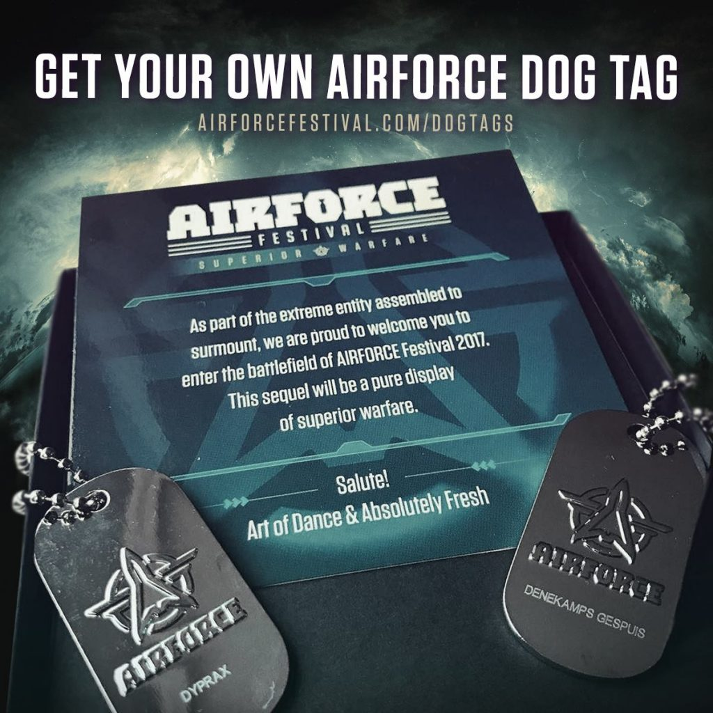 Get your own AIRFORCE dogtag