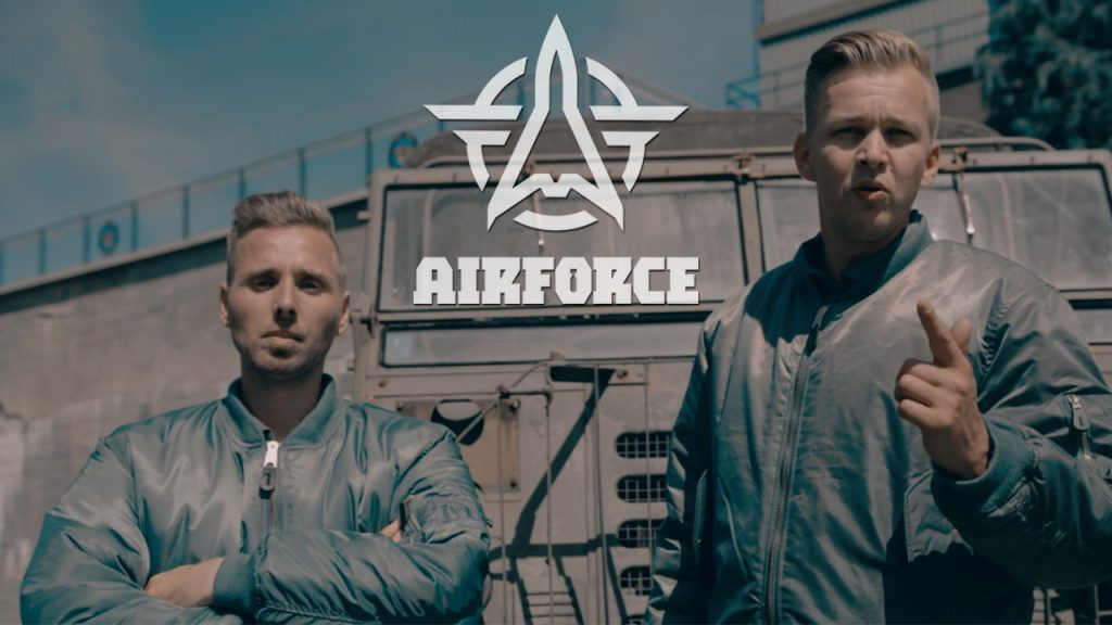 AIRFORCE Festival 2017 anthem creators – Tha Playah & E-Force