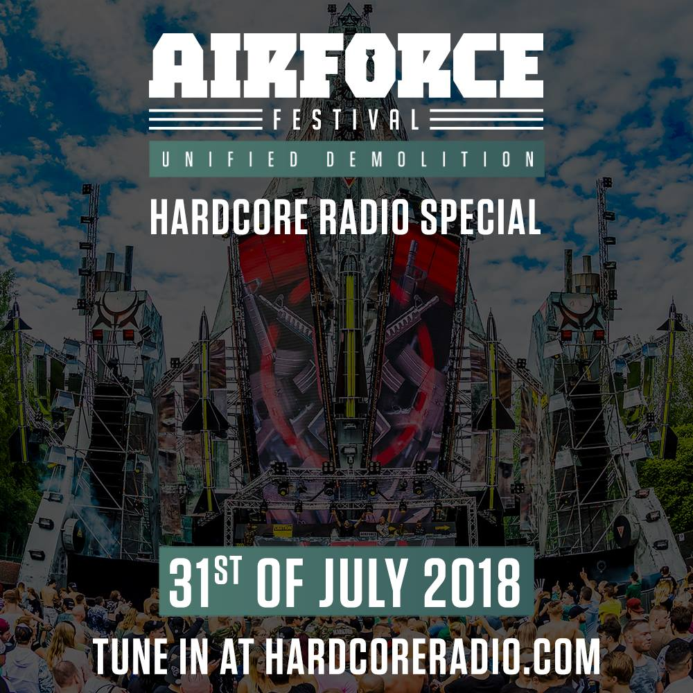 AIRFORCE Festival special at Hardcore Radio!