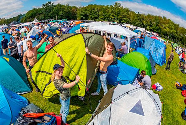 Laatste info voor campingbezoekers