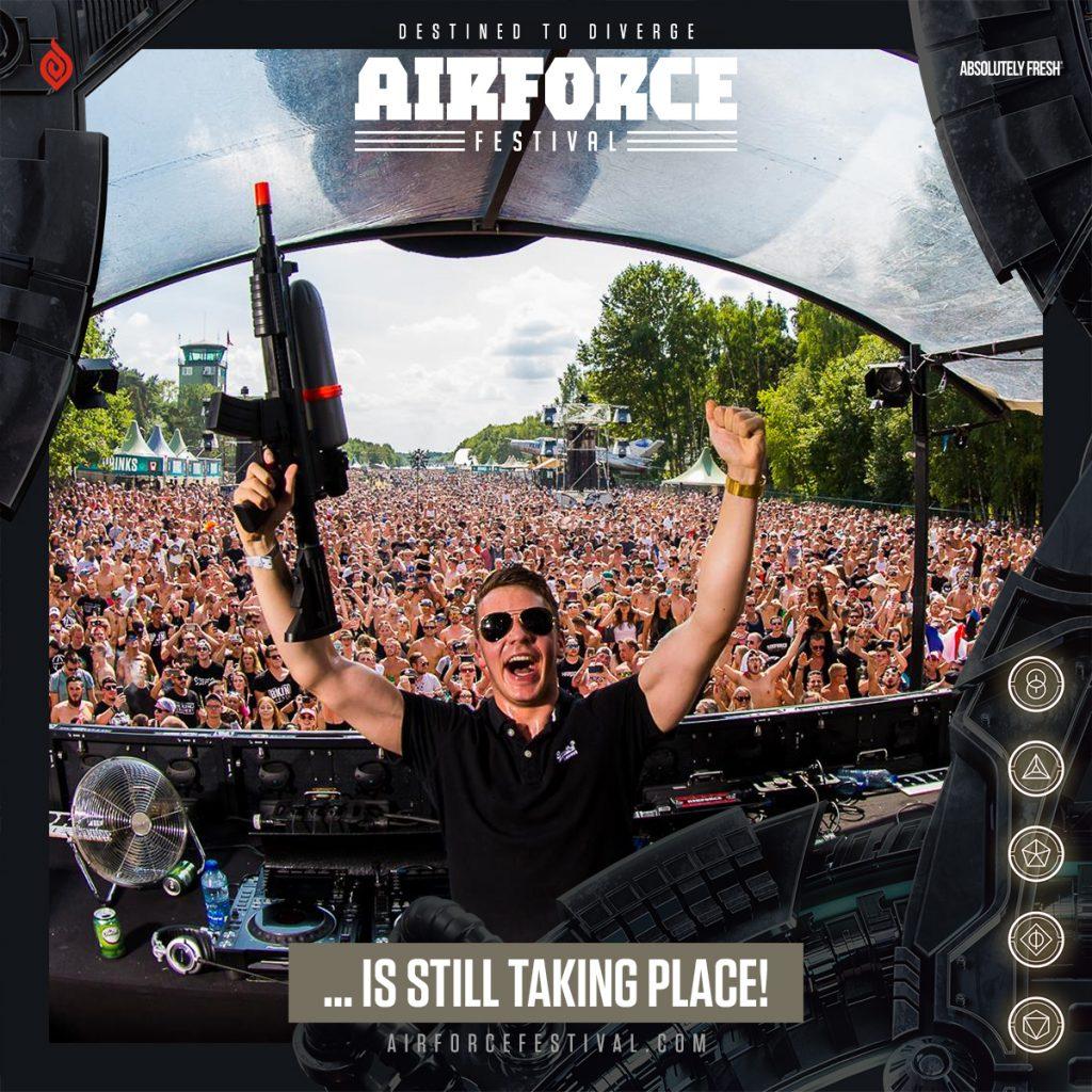 AIRFORCE Festival gaat gewoon door!
